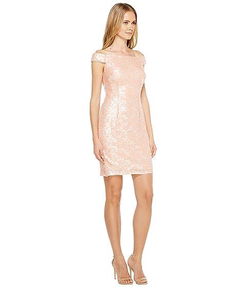 Adrianna Sheath Dress Sequin Papell Adrianna Papell d4qUd