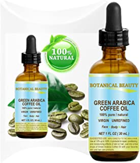Sponsored Ad - GREEN ARABICA COFFEE OIL Brazilian. 1 Fl.oz- 30 ml. 100% Pure/Premium Quality. For Skin, Hair, Lip and Nail...