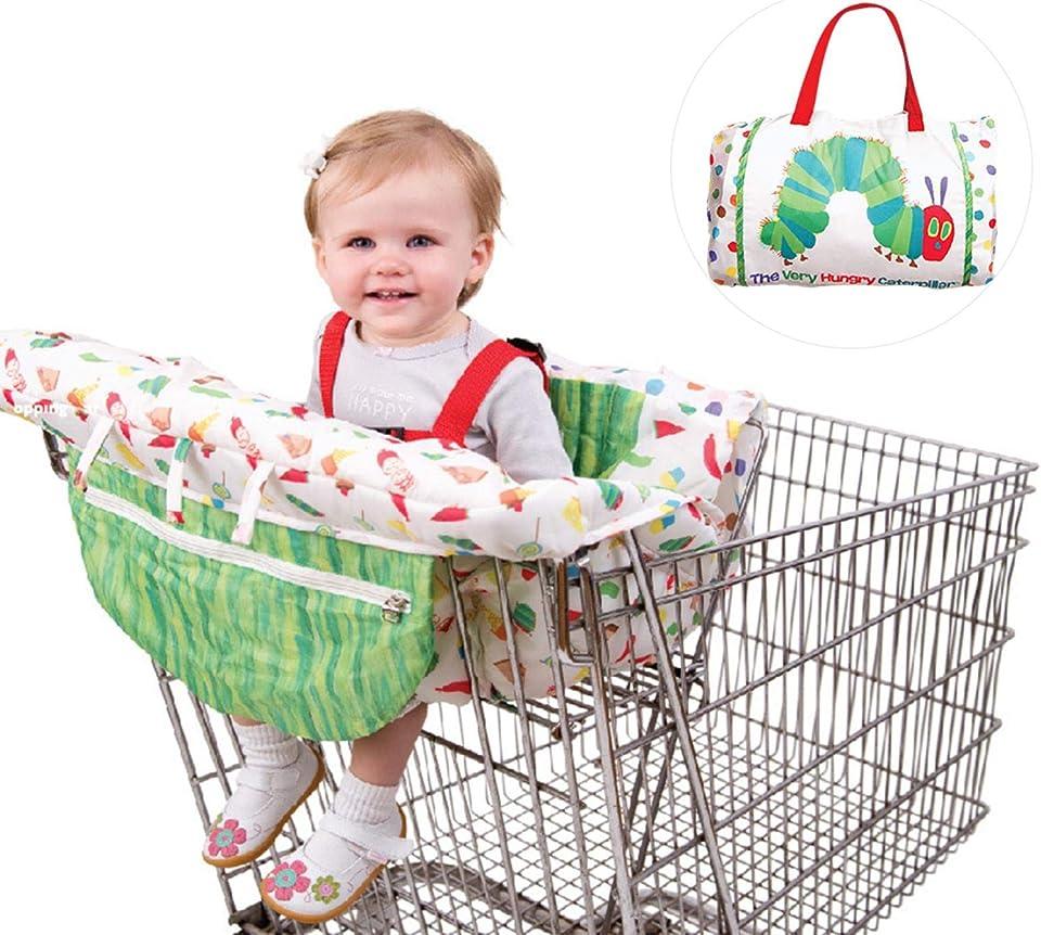 osmanthus Einkaufswagenschutz, Universelle Baby Einkaufswagen Abdeckung Hygieneschutz, waschbar Kinderwagen weicher Organisatoren, Kindersicherheit