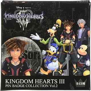 KINGDOM HEARTS III カンバッジコレクション Vol.2 BOX商品 1BOX=13個入り、全13種類