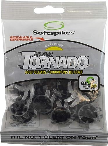 SOFTSPIKES Tornado Crampon Mixte Adulte, Gris