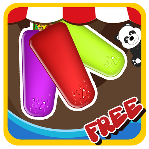 Friandises glacées - Bonbons de glaçons - Candy Ice 2 - jeux Maker pour les filles