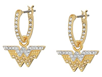 Swarovski Fit Wonder Hoop Pierced Earrings (White) Earring