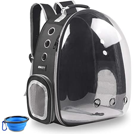 Hiking Backpack Airline Approved Travel Carrier Space Capsule Pet Carrier Dog for Small Dogs FayTun Cat Backpack Carrier Bubble Bag