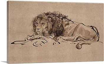 Best rembrandt a lion lying down Reviews
