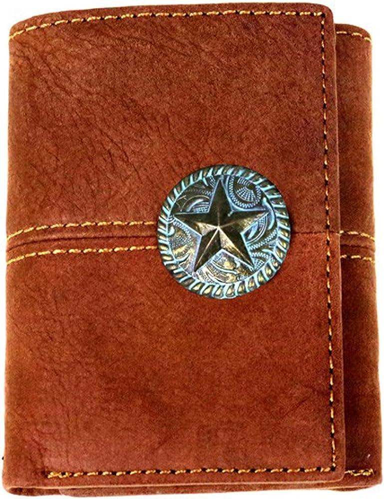 Montana West Western Men's Wallet-MWS-W008 (Brown)