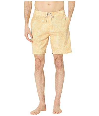 Rip Curl Sun Drenched Layday Swim Shorts (Yellow) Men