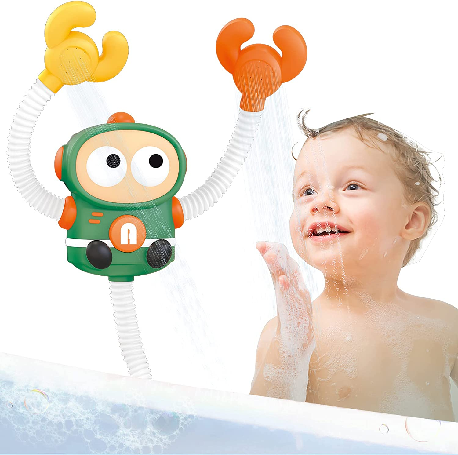 Baby Bath Toys for 40% OFF Cheap Sale Toddlers Sprinkle Shower Double Electric Head Under blast sales