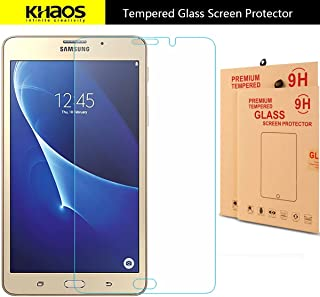 KHAOS For Samsung Galaxy Tab J Max 7.0 inch Premium Tempered Glass Screen Protector With 9H Hardness (For Samsung Galaxy Tab J Max 7.0 inch)