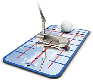 GoSports Golf Putting Alignment Mirror - Improve Your Putting (Choose Between Standard and XL Golf Mirror Training Aids)