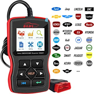 OBDScar OS601 OBD2 Scanner Universal Automotive Engine Fault Code Reader EOBD OBDII CAN Diagnostic Scan Tool