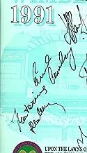 Wimbledon 1991. Wednesday. 3rd July. Ninth Day. Signed. Steffi Graf. Gabriela Sabatini.