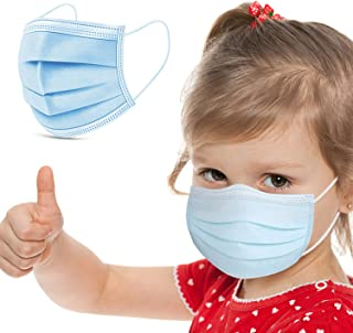 Kids Face Mask Disposable 50pcs 3ply Child Medical