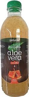 NATURAE Jugo Aloe Vera y Miel Ecológico - 3 Recipientes de 1000 ml - Total: 3000 ml