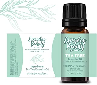 Everyday Beauty | Tea Tree Essential Oil 100% Pure Undiluted Therapeutic Grade ● 15ml
