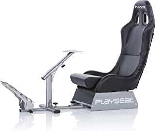 Playseat Evolution Black Racing Video Game Chair For Nintendo XBOX Playstation CPU Supports Logitech Thrustmaster Fanatec Steering Wheel And Pedal Controllers