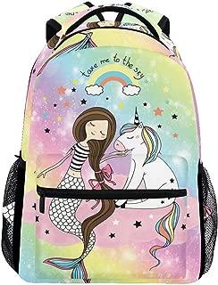 mermaid unicorn backpack