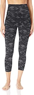 Core 10 Womens DP0001 Yoga Foldover High Waist 7/8 Crop Legging-24 Leggings