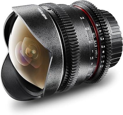Walimex Pro 8 Mm F 3 8 Fish Eye Foto Und Videoobjektiv Kamera