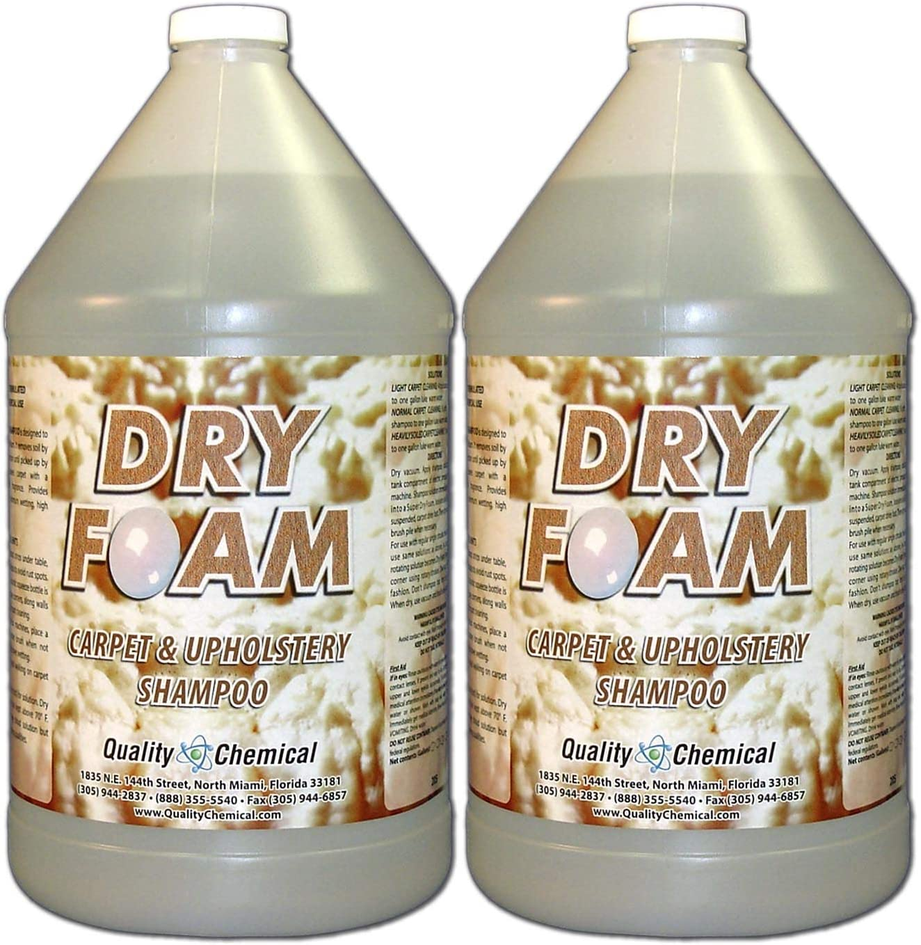 Dry Foam Ranking TOP4 Carpet and gallon case Sale item Shampoo-2 Upholstery
