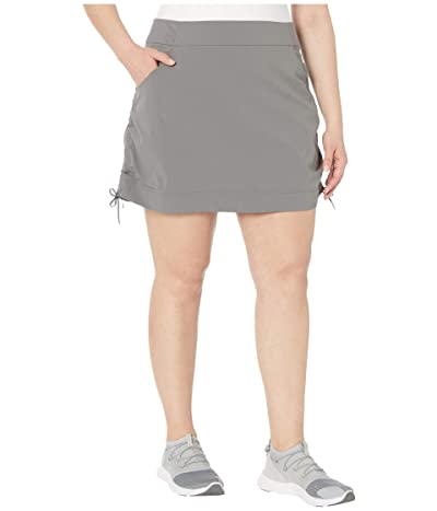 Columbia Plus Size Anytime Casualtm Skort (City Grey) Women