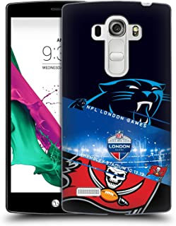 Official NFL Panthers VS. Buccaneers 2019 London Games Hard Back Case Compatible for LG G4 Beat / G4s / G4 s / H735