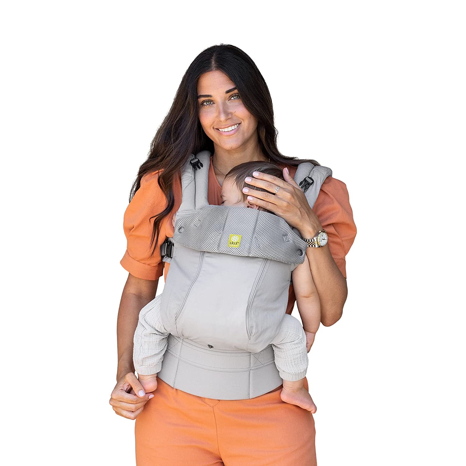 LÍLLÉbaby Complete All Seasons Ergonomic Six-Position Baby Carrier with Lumbar Support, Stone