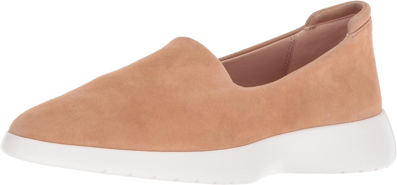 Taryn pink Womens Darla Stretch Suede Sneaker
