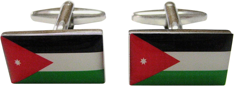 Jordan Flag Cufflinks