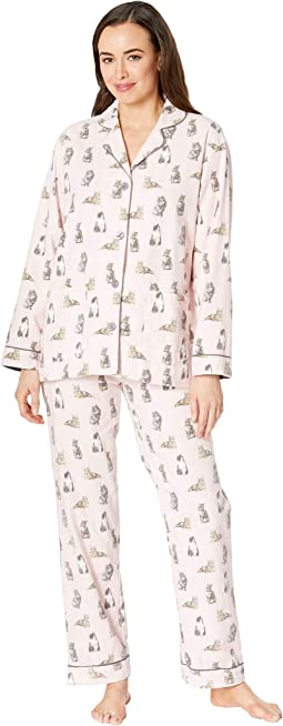Feline Lazy PJ Set
