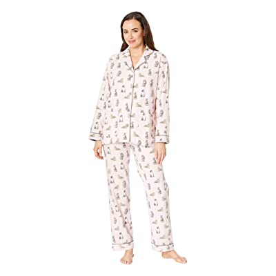 P.J. Salvage Feline Lazy PJ Set (Pink) Women