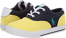 Navy/Yellow Canvas/Green Pony