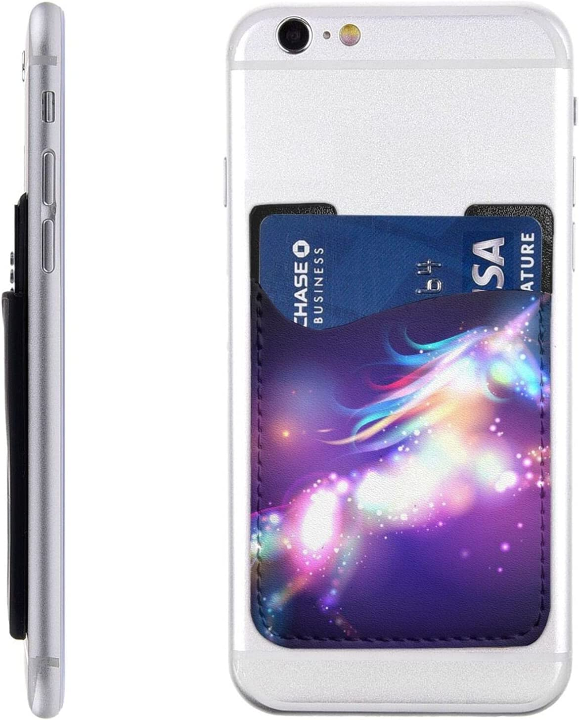Unicorn Max 47% Same day shipping OFF with Stars Phone Card Stick Holder Cell Wa On