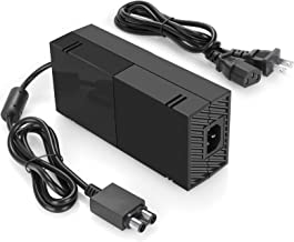 Best Xbox One Power Supply Brick, AC Adapter Charger with Power Cord for Xbox 1 Console, Worldwide Use 100V-240V Review