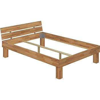 Erst Holz Doppelbett Buche 140x200 Hohes Massivholzbett Seniorenbett 60 81 14 Or Amazon De Kuche Haushalt