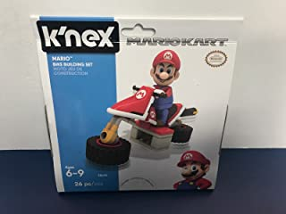 Super Mario Kart K'Nex KNEX Mario Racing Bike Building Set (26 pieces) Brand New