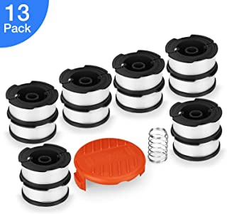 SUERW Line String Trimmer Replacement Spool, [13-Pack] 30ft 0.065