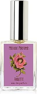 Melodie Perfumes Violette Violet perfume for women. Violet rose floral women's fragrance. 15ml
