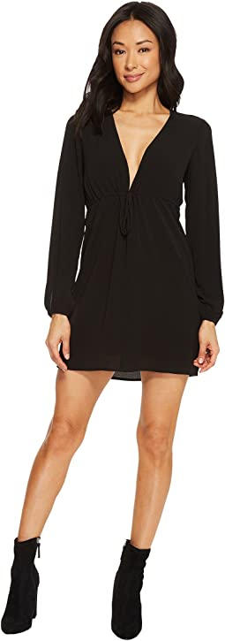 Tavik - Violet Long Sleeve Mini Crepe Dress