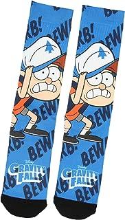 Disney Gravity Falls Dipper Pines Bewarb! Sublimated Crew Socks