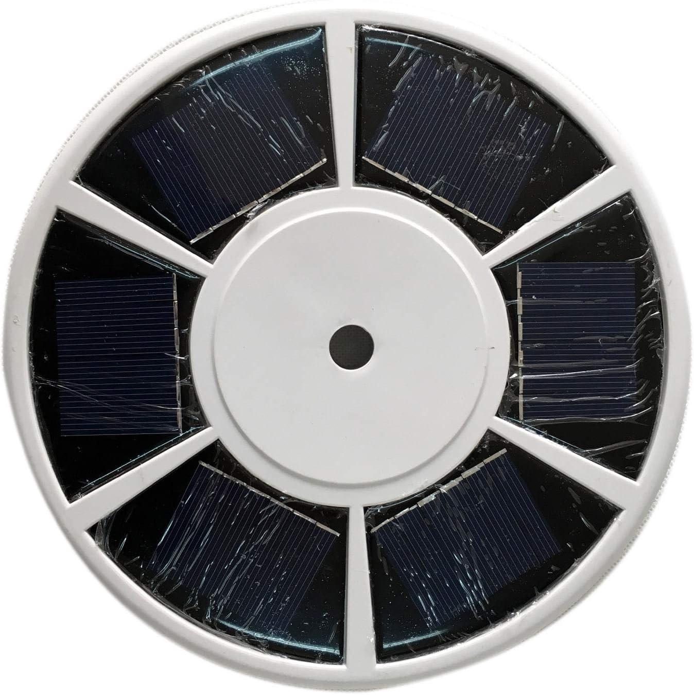 ABO Gear Cheap Popular bargain Solar Flag Pole Orname LED Light Lights Downlight