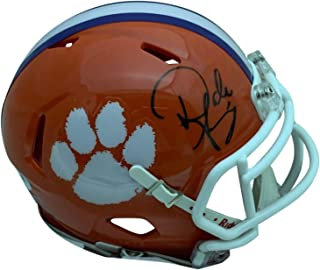 Dabo Swinney Autographed Clemson Tigers Signed Football Mini Helmet PSA DNA COA
