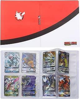 Pokemon Cartas Álbum, Comercio Tarjeta Álbum, Pokémon Titular de Tarjetas Collection Handbook, Pokemon Cards Album Protección (Rojo)