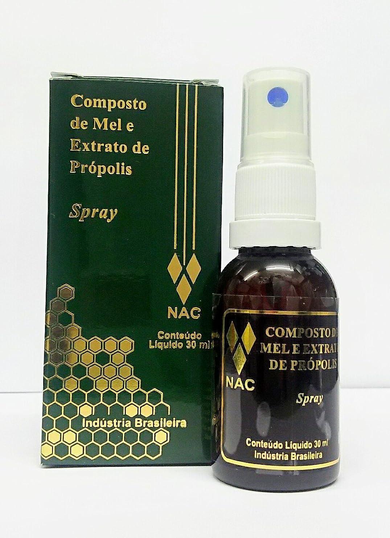 キノコ起訴するクロールブラジル直輸入品ナイール(NAC)社製 高品質プロポリス?スプレー(無添加?グルテンなしの喉スプレー)30ml