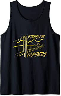 Golden State Distressed Basketball Team Fan warrior Tank Top