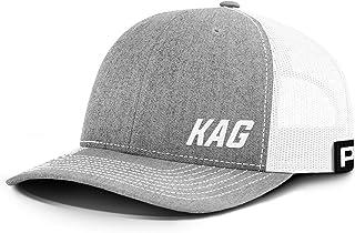 Printed Kicks Trump 2020 KAG Lower Left Back Mesh Hat, Trump Hat