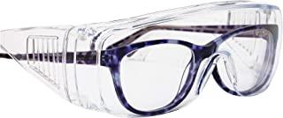 SAFE HANDLER Diamont Vented Over Glasses 12 PAIRS | Meets ANSI Z87.1, Impact Resistant Polycarbonate Lens, 99% UV Protecti...