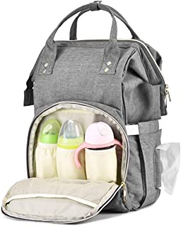 EFFORTLE Baby Diaper Bag Backpack Practical Storage Units Large Capacity Nappy Bags Stylish Diaper Bag Organizer