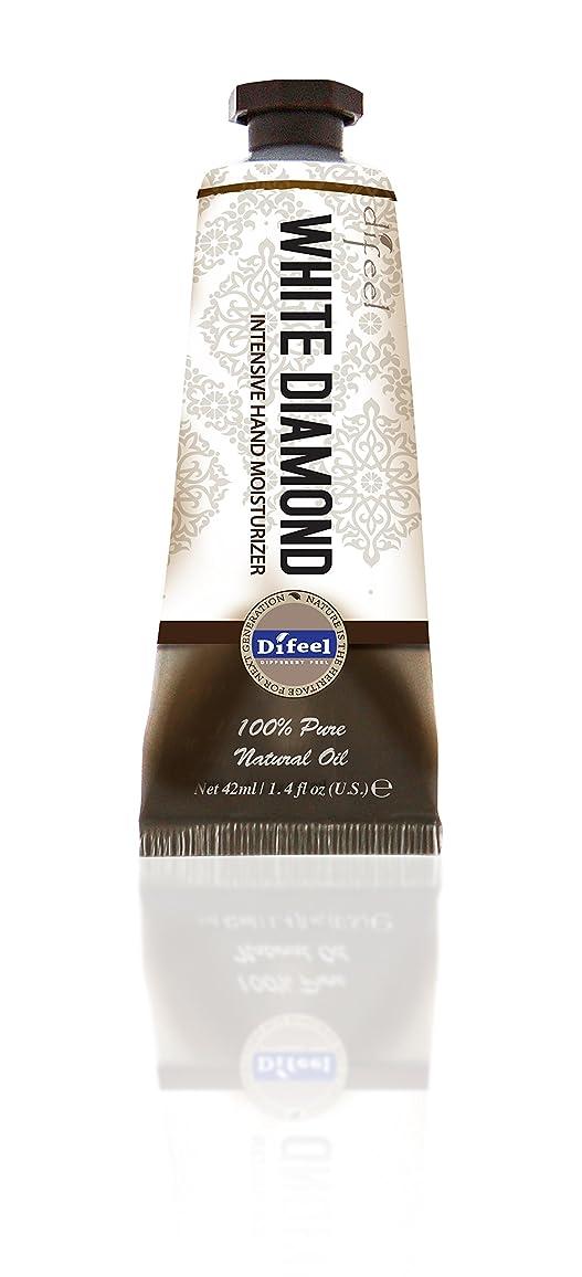 操作裁定距離Difeel(ディフィール) ホワイトダイアモンド ナチュラル ハンドクリーム 40g オリエンタルな香り WHITE DIAMOND 17WDMn New York