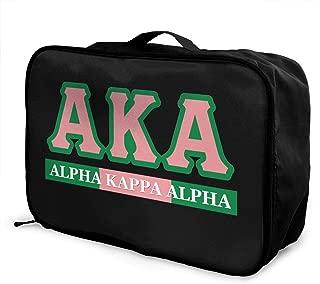 alpha kappa alpha luggage
